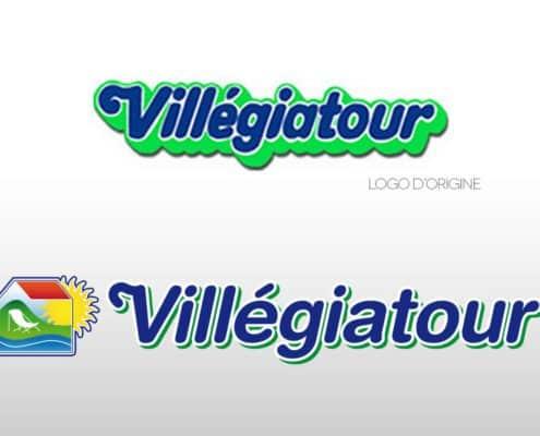 Villegiatour - Evolution du logo