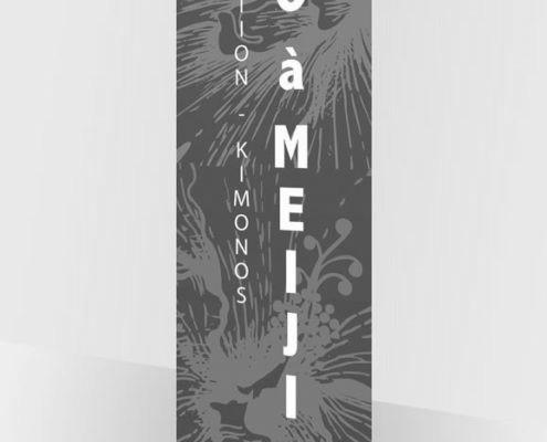 """CBB Créations - Création & Fabrication bache expo """"Edo à Meiji"""""""