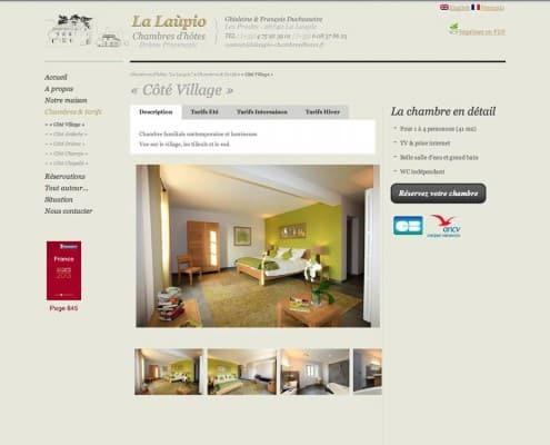 Site internet des Chambres d