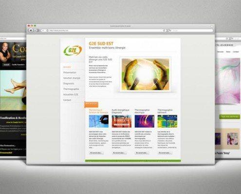 Création Site Internet - G2E Sud Est
