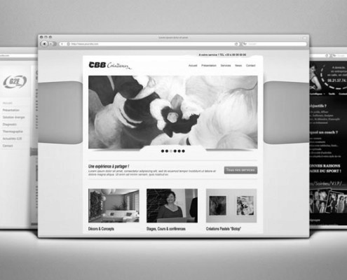 Création Site Internet - CBB Créations
