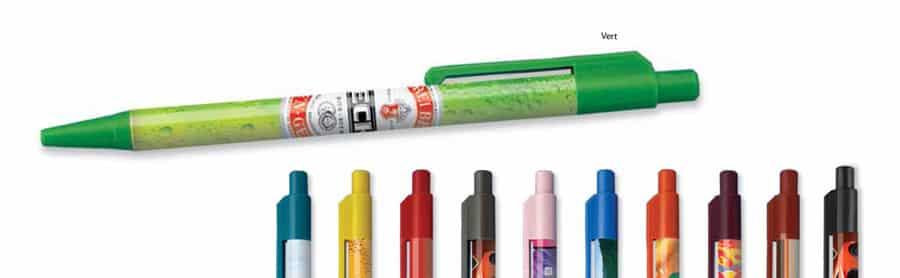 stylo colorama à partir de 100ex