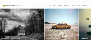 Nouveau site internet photographies
