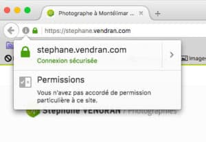 site internet stephane.vendran.com en https